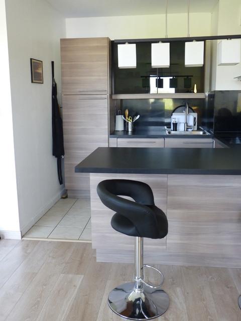 Am nagement d 39 une cuisine lardenne 31 contemporary - Amenagement d une cuisine ...