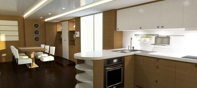 am nagement et d coration d 39 un mobile home de luxe. Black Bedroom Furniture Sets. Home Design Ideas