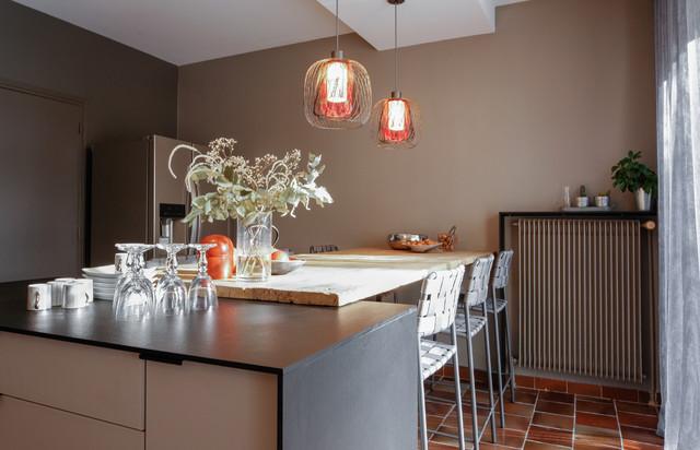 Am nagement et d coration d 39 une cuisine contemporain for Deco cuisine houzz