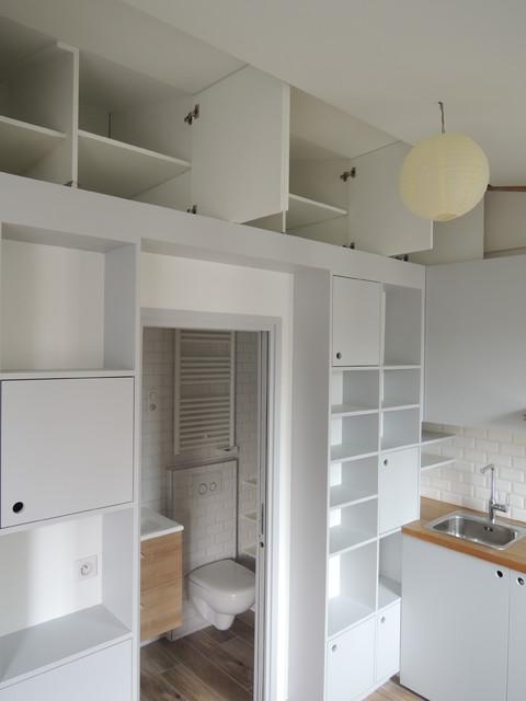 appartement ch skandinavisch k che other metro von cl millet international. Black Bedroom Furniture Sets. Home Design Ideas