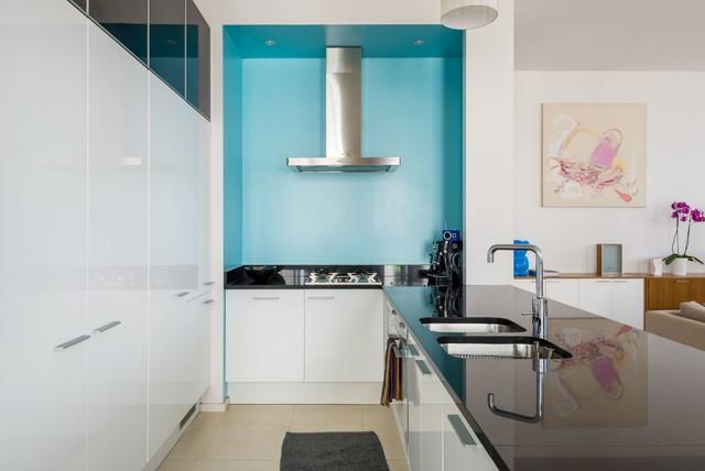 appartement d 39 architecte croix rousse contemporary kitchen other metro by aur lien vivier. Black Bedroom Furniture Sets. Home Design Ideas