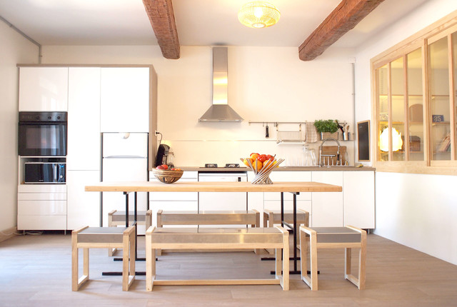 Appartement narbonne scandinave cuisine toulouse - Appartement moderne russe inspiration nordique ...