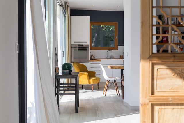 Appartement nice cimiez contemporain cuisine nice for Cuisine design nice