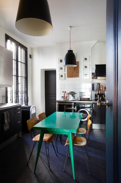 appartement parisien the kitchen contemporain cuisine other metro par sarah lavoine. Black Bedroom Furniture Sets. Home Design Ideas