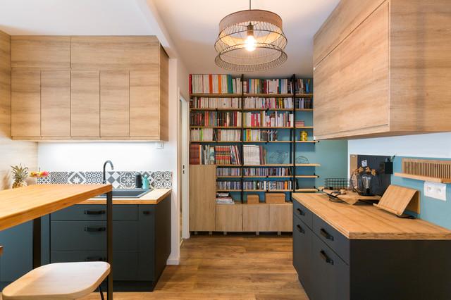 Appartement r nov jouy en josas cuisine contemporaine for Cuisine contemporaine
