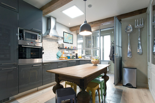 Architecture et d co clectique cuisine montpellier for Deco cuisine houzz