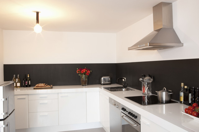 ardoise adh sive pour cr dence de cuisine chambres d enfants modern kitchen other. Black Bedroom Furniture Sets. Home Design Ideas