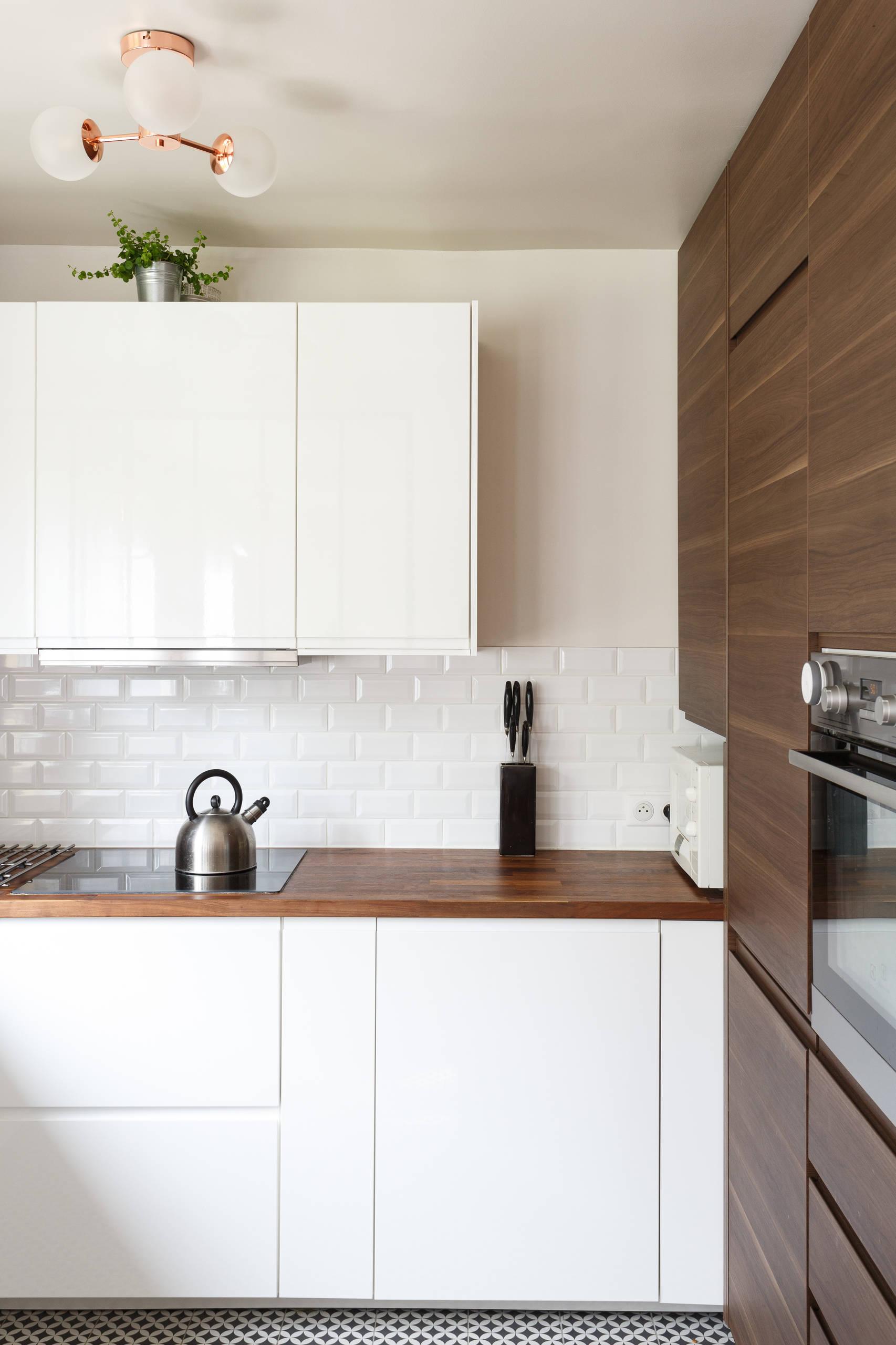 Avant/après Comment optimiser sa cuisine et l'entrée de son appartement