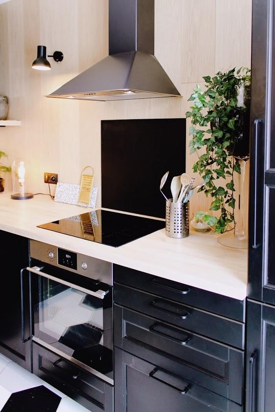 Avant/Après Rénovation d'une cuisine avec intégration d'une verrière