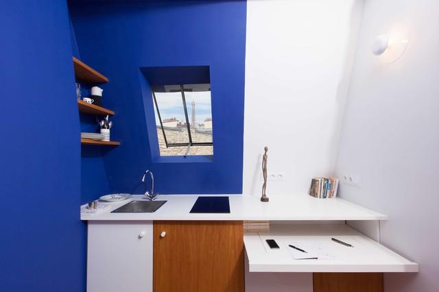 chevert contemporain cuisine paris par estelle griffe. Black Bedroom Furniture Sets. Home Design Ideas