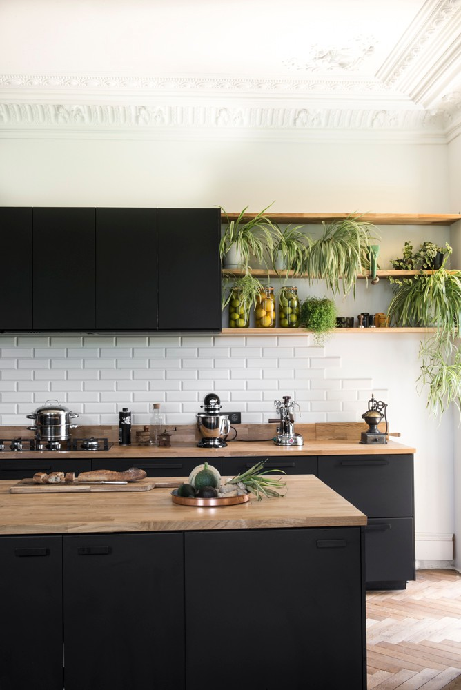 75 Beautiful Kitchen With Black Cabinets Pictures Ideas April 2021 Houzz