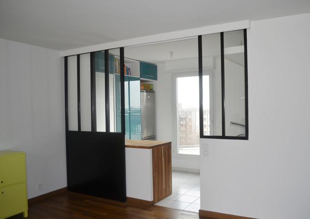 cloison ouverte. Black Bedroom Furniture Sets. Home Design Ideas