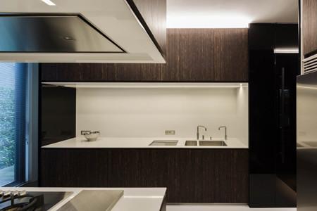 Conception et r alisation d 39 une cuisine ouverte vers le salon for Realisation cuisine ouverte