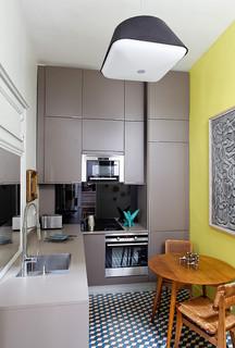 appartement marais contemporain cuisine paris par maitre d 39 oeuvre b timent architecte d. Black Bedroom Furniture Sets. Home Design Ideas