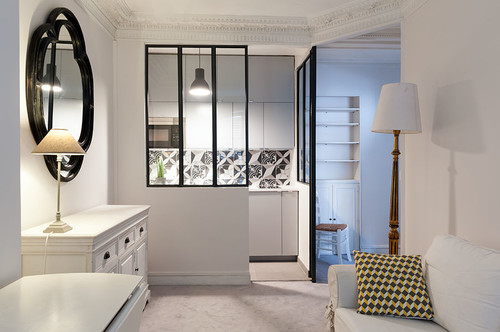 10 id es pour am nager sa cuisine avec une verri re. Black Bedroom Furniture Sets. Home Design Ideas