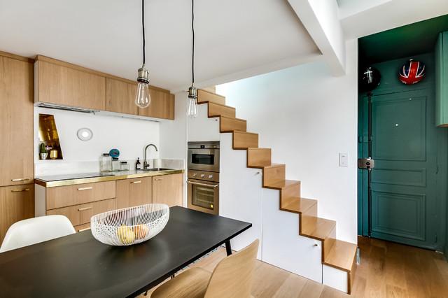 Vorher nachher ein mini apartment in paris bekommt höhere decken