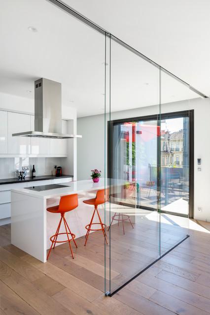 cuisine appartement p. Black Bedroom Furniture Sets. Home Design Ideas