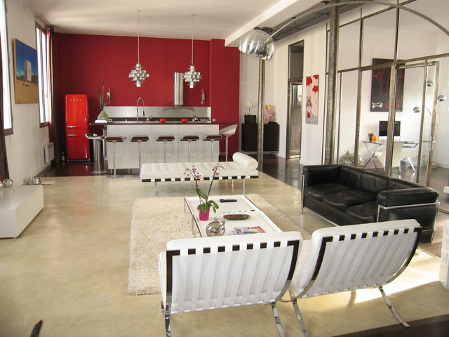 Cuisine art deco industrial kitchen other metro by for Deco cuisine houzz