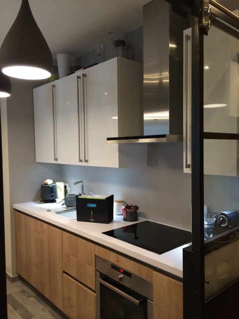 Verriere interieur cuisine home design architecture for Cuisine avec verriere interieur