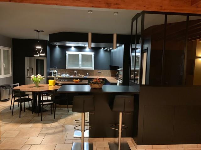 Cuisine Complete Avant Apres Industrial Kitchen Toulouse