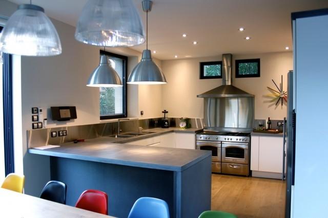 cuisine en b ton min ral lisse moderne cuisine other metro par concrete lcda. Black Bedroom Furniture Sets. Home Design Ideas
