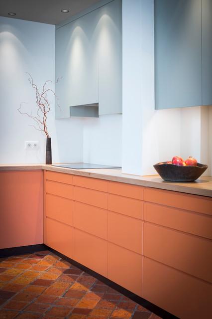 cuisine d pendances contemporain cuisine paris par melanie lallemand architectures. Black Bedroom Furniture Sets. Home Design Ideas