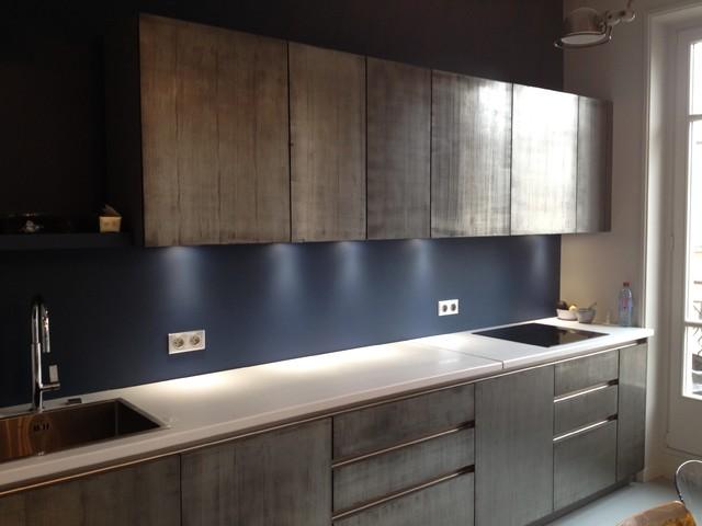 Enduit cuisine peinture antirouille - Enduit decoratif cuisine ...