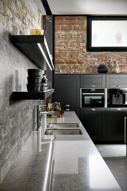 Cuisine Frame Industrial Kitchen Strasbourg By Schmidt