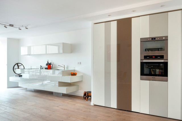Cuisine loft contemporary kitchen paris by arlydesign for Cuisine loft