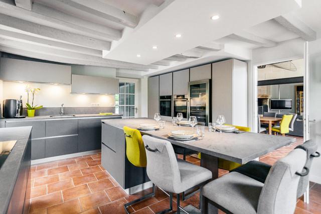 Cuisine - Modern - Küche - Angers - von MadaM Architecture