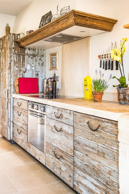 cuisine mati res eclectic kitchen montpellier by lpasse design. Black Bedroom Furniture Sets. Home Design Ideas