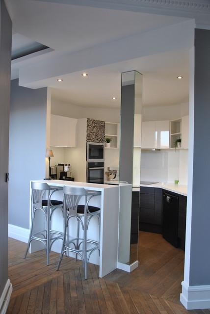cuisine ouverte sur couloir boulogne sur mer. Black Bedroom Furniture Sets. Home Design Ideas