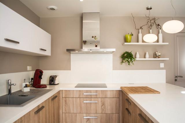 cuisine; salle à manger - Modern - Kitchen - other metro - by AM ...