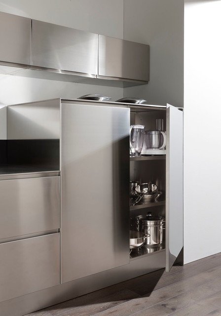 cuisine tout inox contemporain cuisine nice par alpha elita. Black Bedroom Furniture Sets. Home Design Ideas