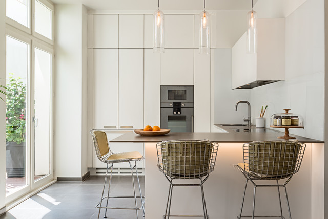 D coration d 39 int rieur contemporain cuisine paris for Deco cuisine houzz