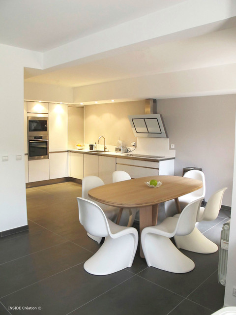 D coration d 39 int rieur contemporain cuisine nice for Deco cuisine houzz