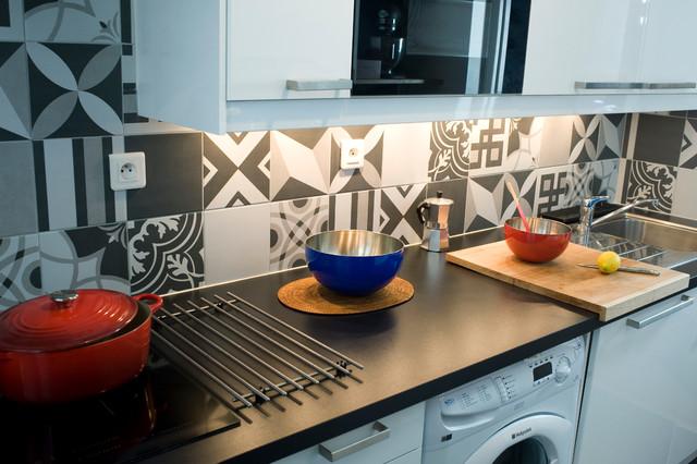 Décoration de la cuisine contemporaneo cucina bordeaux di