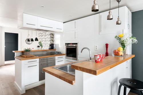 cuisine en u ergonomie