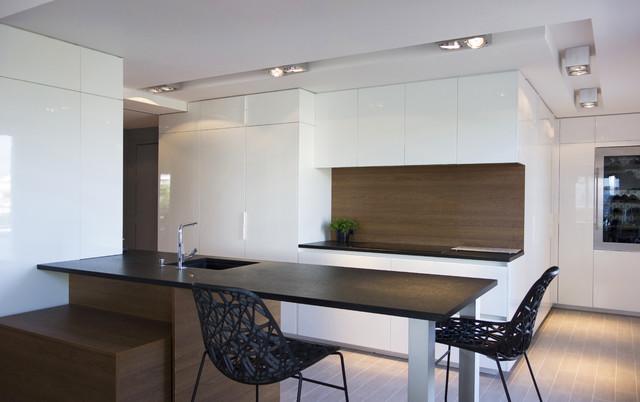 Duplex sur le toit for Voir cuisine moderne