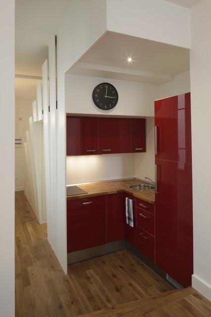 eventail moderne cuisine montpellier par cyril rheims architecte. Black Bedroom Furniture Sets. Home Design Ideas