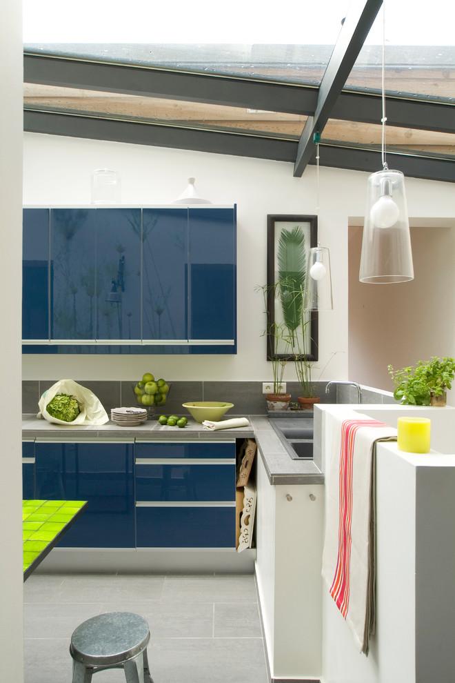Extension et rénovation intérieure - Contemporary ...