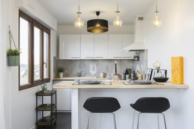 Home Staging D Une Cuisine Ouverte Dans Un Appartement Vide