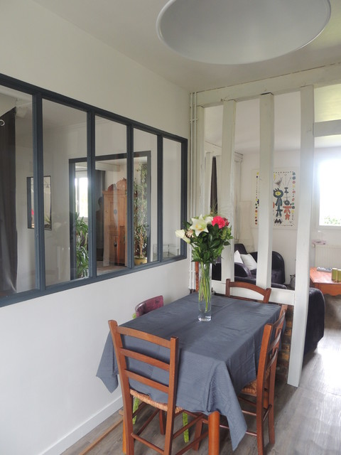 Home staging d 39 une maison clectique cuisine other for Deco cuisine houzz