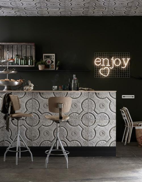 Koziel papiers peints rev tements muraux et d corations en trompe l 39 il - Revetements muraux cuisine ...