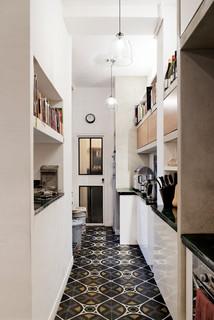 l 39 imprimerie industrial kitchen paris by miriam gassmann. Black Bedroom Furniture Sets. Home Design Ideas