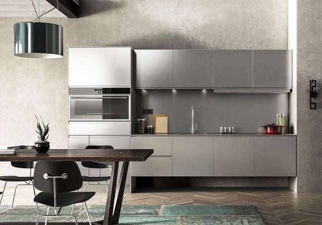 lin aire cuisine tout inox. Black Bedroom Furniture Sets. Home Design Ideas