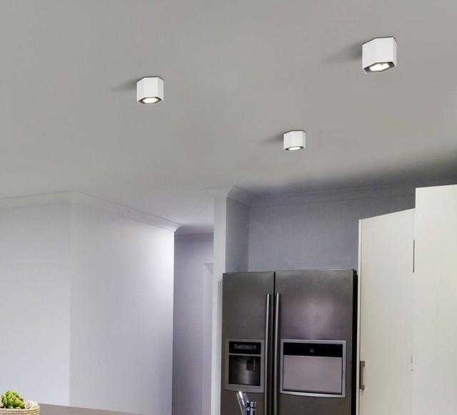 Luminaires Pour CuisinePlafonnierHexoBlancØ12 La 7cm SzqMpUVG