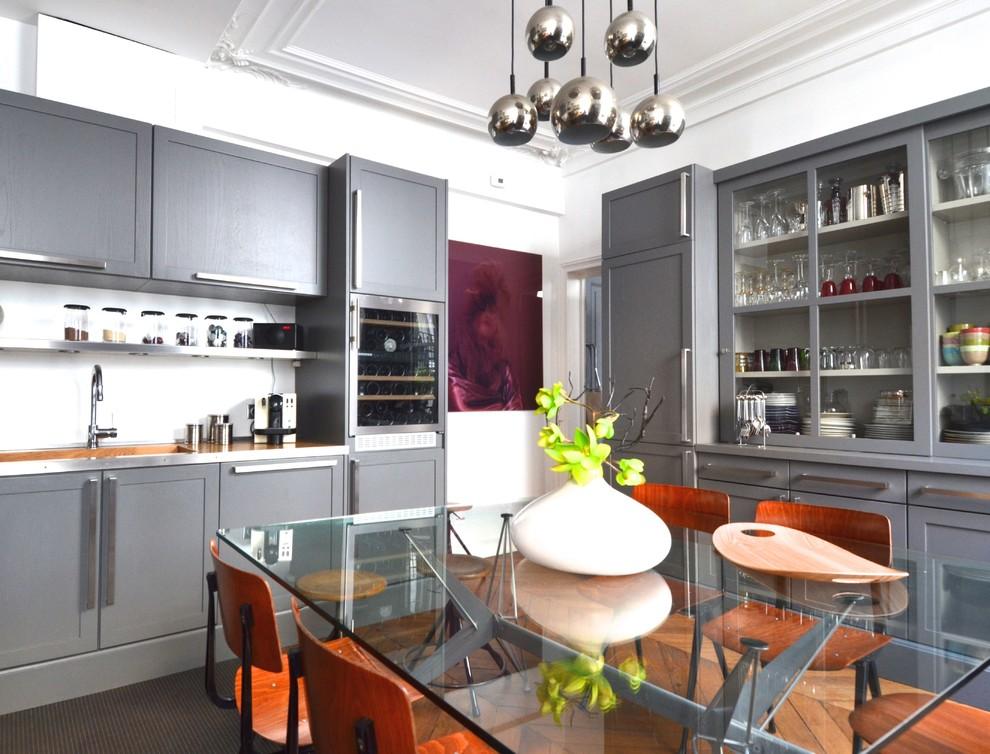 Magnifique Cuisine à Vivre Appartement Parisien