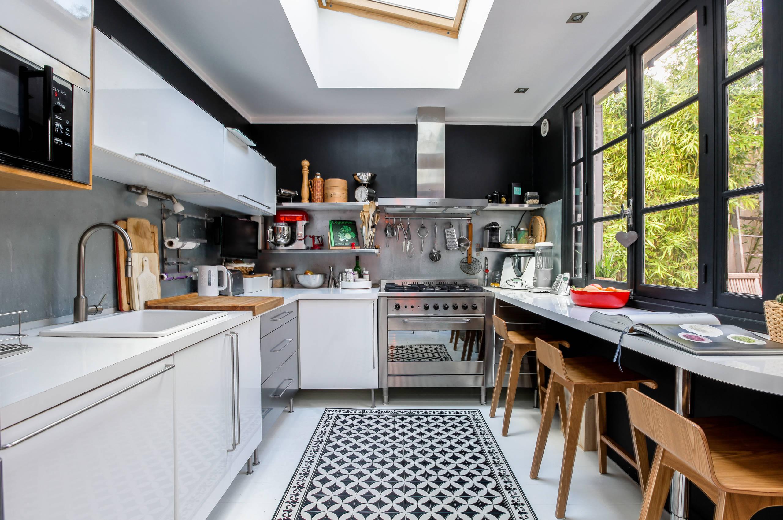 Maison 92 Contemporary Kitchen Paris By Aniss Studio Houzz