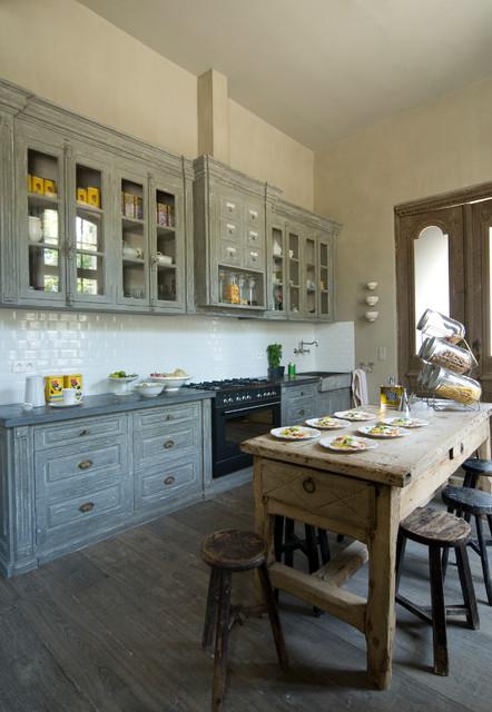 Maison Déco En Provence Mediterranean Kitchen
